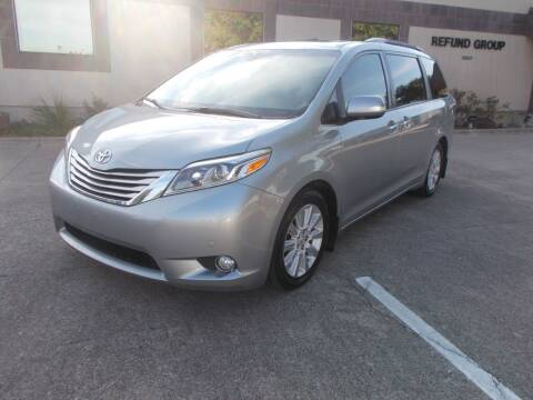2015 Toyota Sienna for sale at ACH AutoHaus in Dallas TX