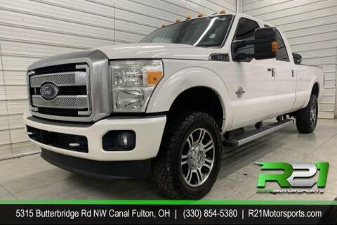 2015 Ford F-350 Super Duty for sale at Route 21 Auto Sales in Canal Fulton OH