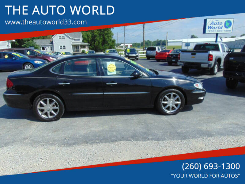 2005 Buick LaCrosse for sale at THE AUTO WORLD in Churubusco IN