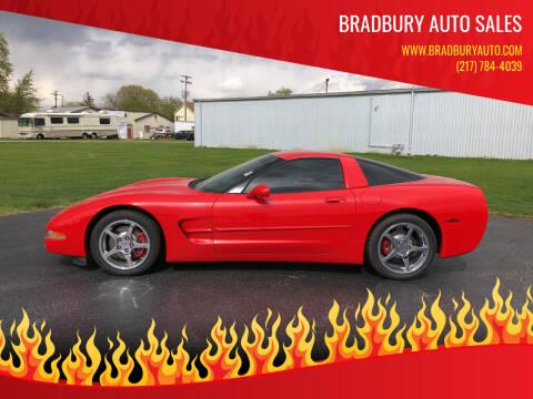 2003 Chevrolet Corvette for sale at BRADBURY AUTO SALES in Gibson City IL