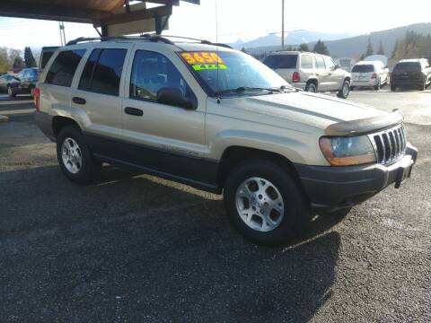 2001 Jeep Grand Cherokee for sale at Low Auto Sales in Sedro Woolley WA
