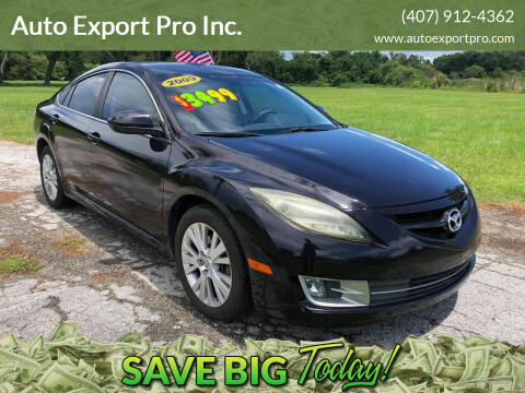 2009 Mazda MAZDA6 for sale at Auto Export Pro Inc. in Orlando FL