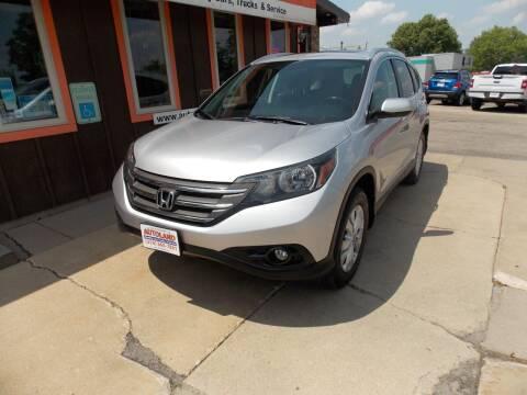 2012 Honda CR-V for sale at Autoland in Cedar Rapids IA
