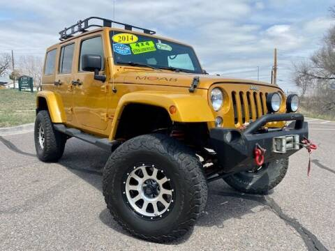 2014 Jeep Wrangler Unlimited for sale at UNITED Automotive in Denver CO