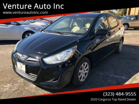 2012 Hyundai Accent for sale at Venture Auto Inc in South Gate CA