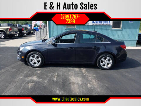2016 Chevrolet Cruze Limited for sale at E & H Auto Sales in South Haven MI