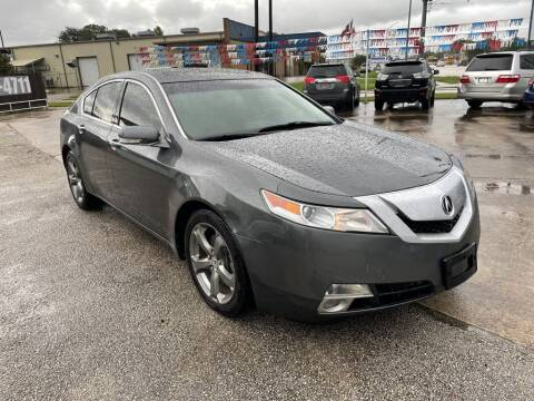 2011 Acura TL for sale at AMERICAN AUTO COMPANY in Beaumont TX