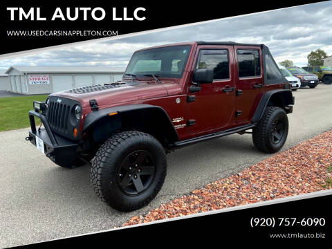 2008 Jeep Wrangler Unlimited for sale at TML AUTO LLC in Appleton WI
