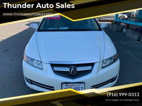 2008 Acura TL for sale at Thunder Auto Sales in Sacramento CA