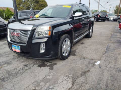 2013 GMC Terrain for sale at Peter Kay Auto Sales in Alden NY