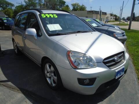 2008 Kia Rondo for sale at DISCOVER AUTO SALES in Racine WI