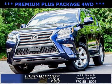 2018 Lexus GX 460 for sale at Used Imports Auto in Roswell GA