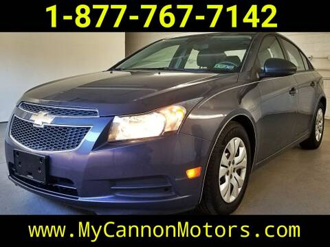 2013 Chevrolet Cruze for sale at Cannon Motors in Silverdale PA