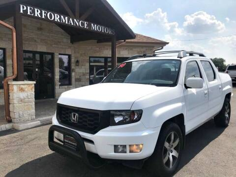 2014 Honda Ridgeline for sale at Performance Motors Killeen Second Chance in Killeen TX