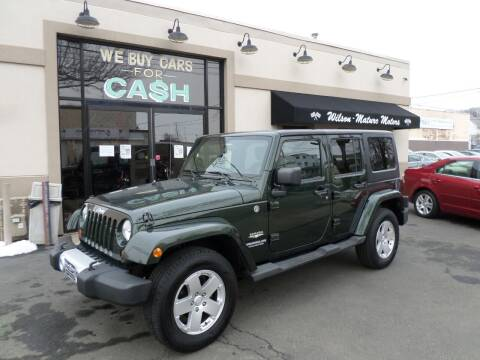 2011 Jeep Wrangler Unlimited for sale at Wilson-Maturo Motors in New Haven Ct CT