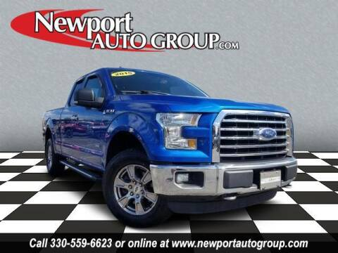 2015 Ford F-150 for sale at Newport Auto Group in Austintown OH