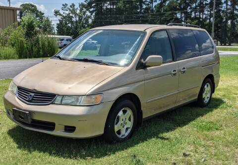 2001 Honda Odyssey for sale at Hal's Auto Sales in Suffolk VA