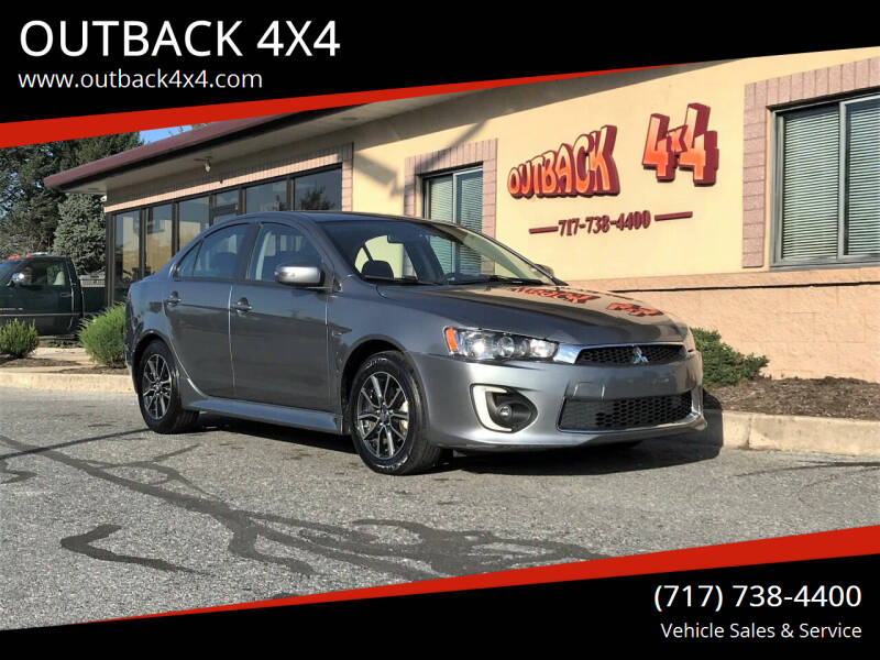 2017 Mitsubishi Lancer for sale at OUTBACK 4X4 in Ephrata PA