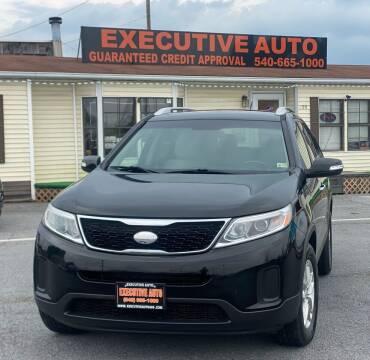 2015 Kia Sorento for sale at Executive Auto in Winchester VA