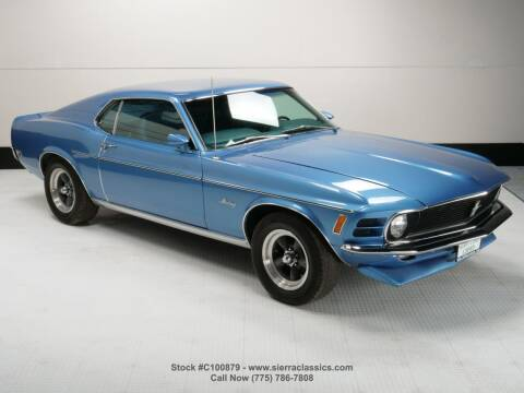 1970 Ford Mustang for sale at Sierra Classics & Imports in Reno NV