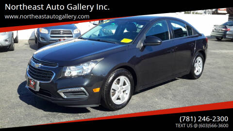 2015 Chevrolet Cruze for sale at Northeast Auto Gallery Inc. in Wakefield MA