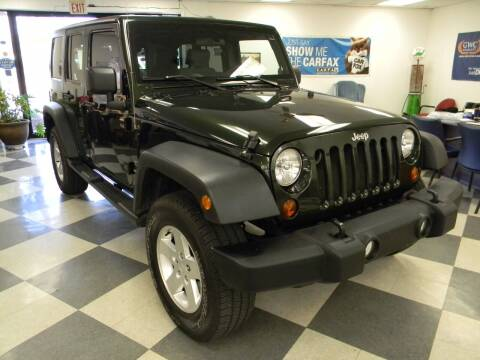 2010 Jeep Wrangler Unlimited for sale at Lindenwood Auto Center in St. Louis MO