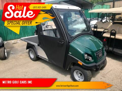 2018 Club Car New Carryall 510 LSV for sale at METRO GOLF CARS INC in Fort Worth TX