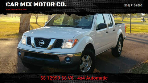 2008 Nissan Frontier for sale at CAR MIX MOTOR CO. in Phoenix AZ