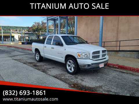 2007 Dodge Ram Pickup 1500 for sale at TITANIUM AUTO SALE in Houston TX