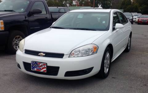 2011 Chevrolet Impala for sale at Morristown Auto Sales in Morristown TN