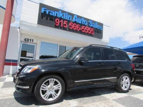 2015 Mercedes-Benz GLK for sale at Franklin Auto Sales in El Paso TX