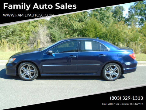 2006 Acura RL for sale at Family Auto Sales in Rock Hill SC