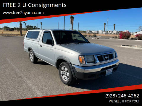 2000 Nissan Frontier for sale at FREE 2 U Consignments in Yuma AZ