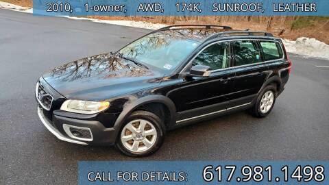 2010 Volvo XC70 for sale at Wheeler Dealer Inc. in Acton MA