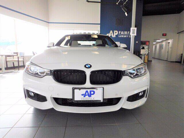 2016 BMW 4 Series for sale at AP Fairfax in Fairfax VA