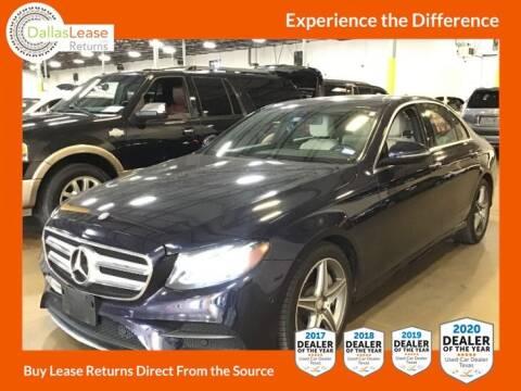 2017 Mercedes-Benz E-Class for sale at Dallas Auto Finance in Dallas TX