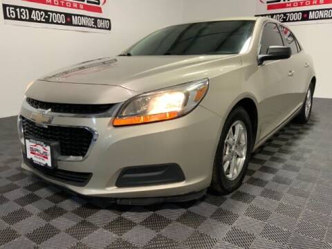 2014 Chevrolet Malibu for sale at SIRIUS MOTORS INC in Monroe OH