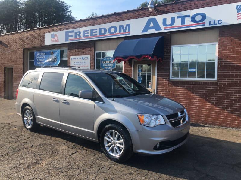 2019 Dodge Grand Caravan for sale at FREEDOM AUTO LLC in Wilkesboro NC