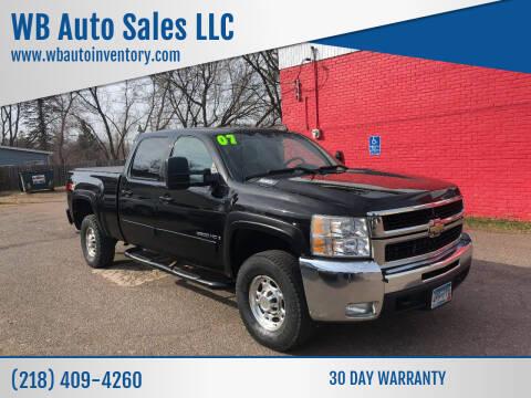 2007 Chevrolet Silverado 2500HD for sale at WB Auto Sales LLC in Barnum MN
