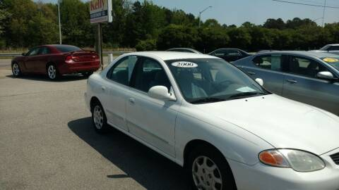 2000 Hyundai Elantra for sale at Kelly & Kelly Supermarket of Cars in Fayetteville NC