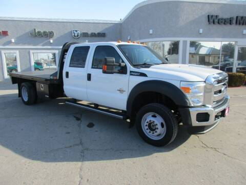 2015 Ford F-550 Super Duty for sale at West Motor Company in Hyde Park UT