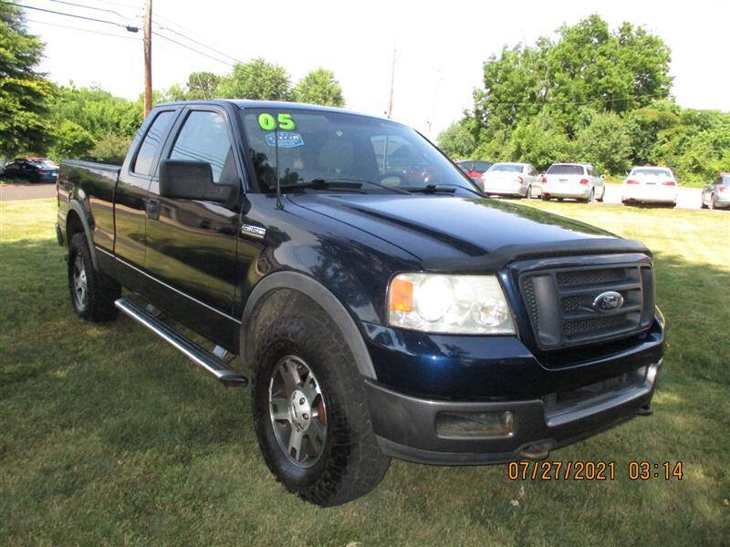 2005 Ford F-150 for sale at Euro Asian Cars in Knoxville TN