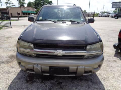 2002 Chevrolet TrailBlazer for sale at SCOTT HARRISON MOTOR CO in Houston TX