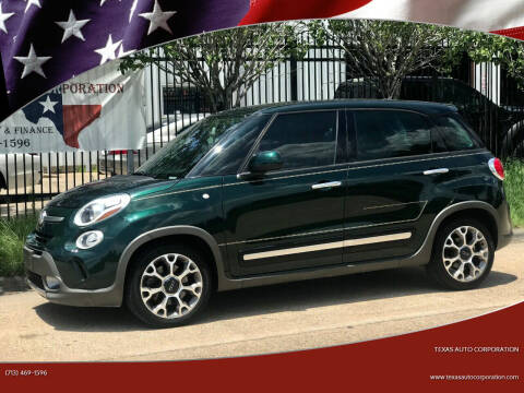 2014 FIAT 500L for sale at Texas Auto Corporation in Houston TX