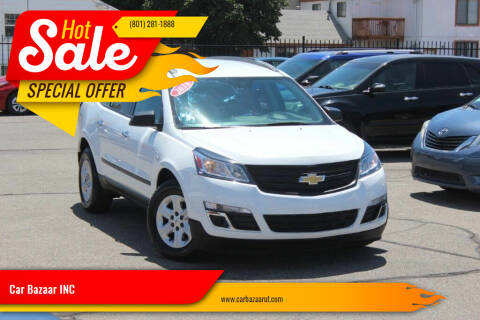 2016 Chevrolet Traverse for sale at Car Bazaar INC in Salt Lake City UT