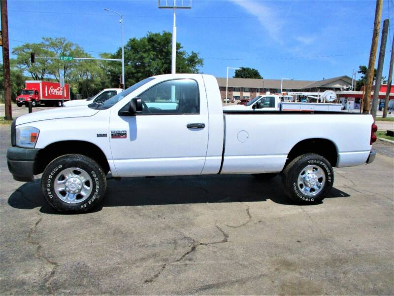2008 Dodge Ram Pickup 2500 for sale at Steffes Motors in Council Bluffs IA
