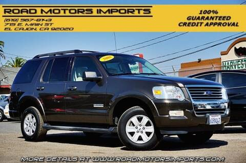 2008 Ford Explorer for sale at Road Motors Imports in El Cajon CA
