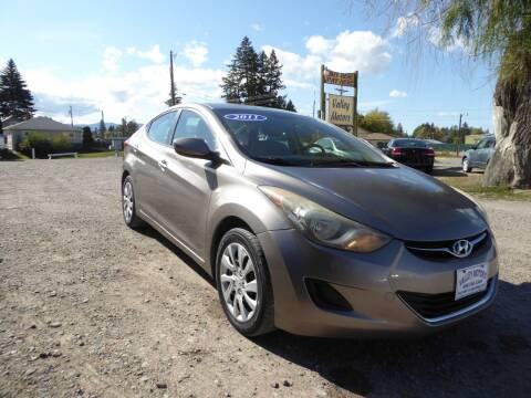 2011 Hyundai Elantra for sale at VALLEY MOTORS in Kalispell MT
