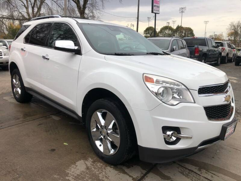 2012 Chevrolet Equinox for sale at Direct Auto Sales in Milwaukee WI