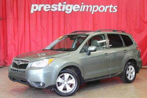 2014 Subaru Forester for sale at Prestige Imports in St Charles IL